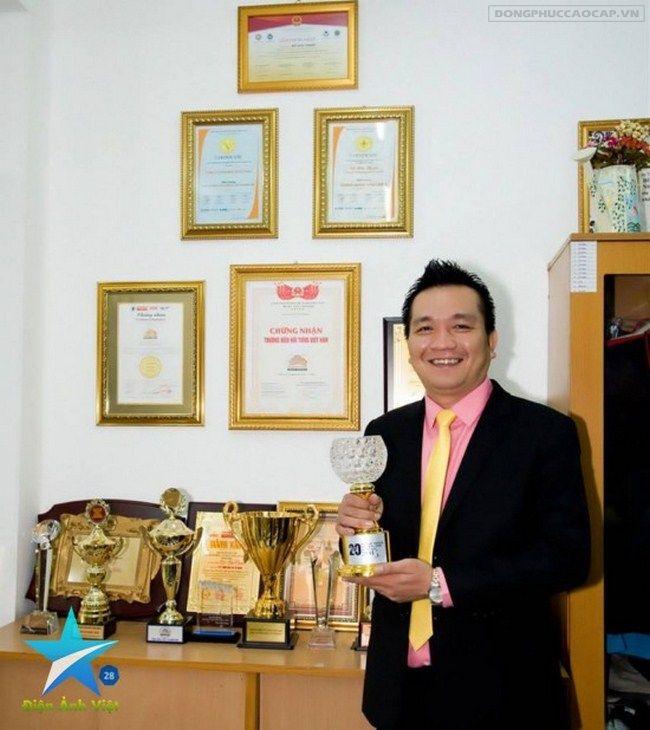 Ông Đỗ Hữu Thanh - Tổng Giám đốc công ty May Sư Tử Vàng
